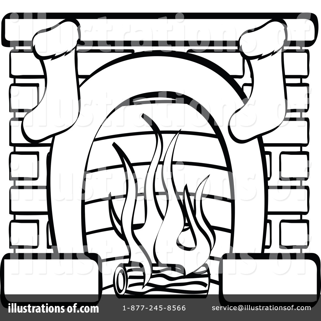 Magnificent Fireplace Clipart Black And White 3 Clipart Station Home Interior And Landscaping Palasignezvosmurscom