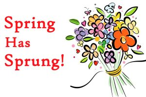 first day of spring 2018 clipart 6