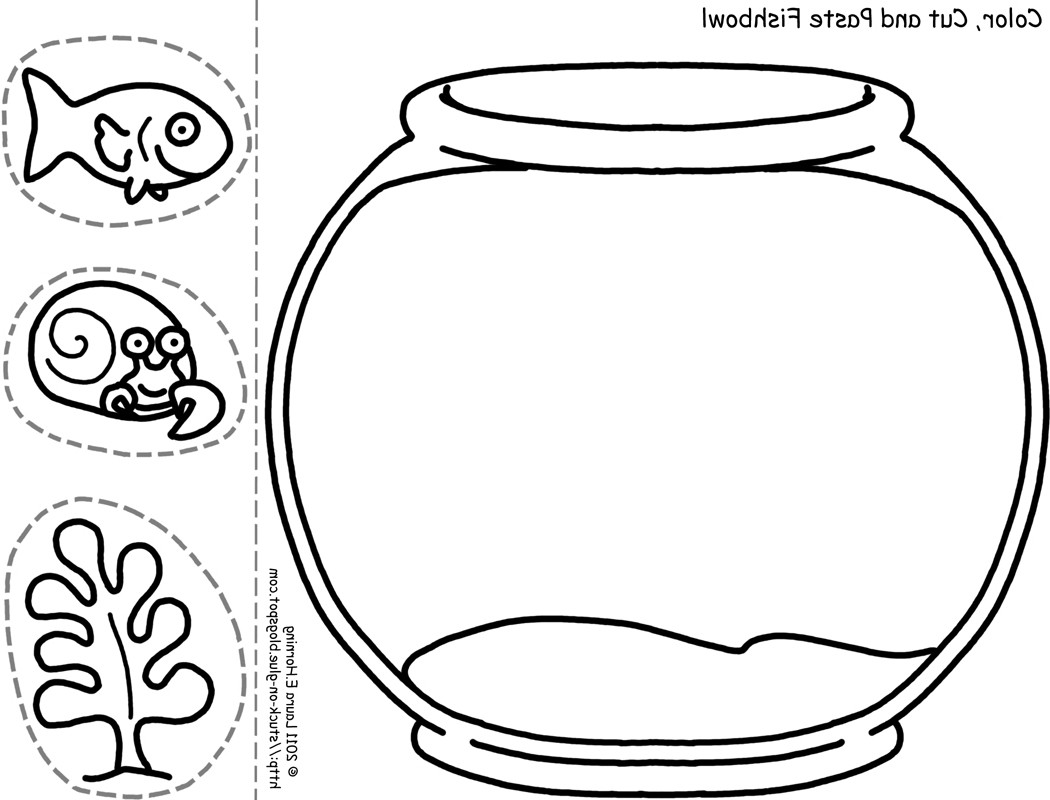 Fish Bowl Clipart Black And White 6 Clipart Station