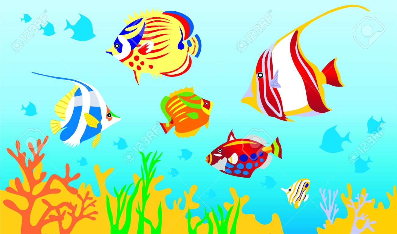 Fish in the sea clipart 2 » Clipart Station