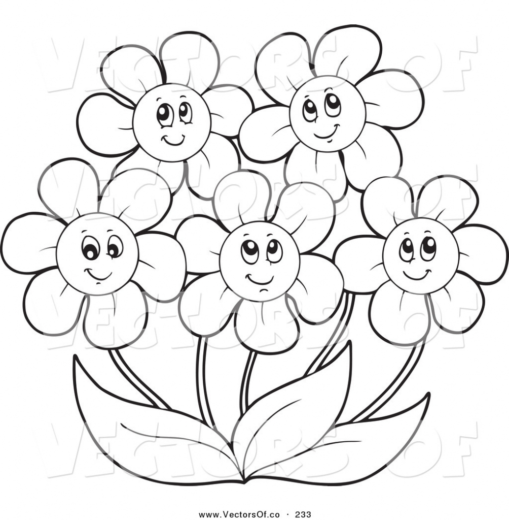Unique Printable Flower Coloring Pages Collection Printable ...