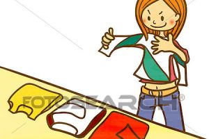 folding clothes clipart 1