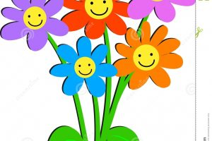 free clipart happy birthday flowers 5