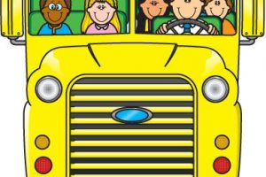 free clipart school buses 7