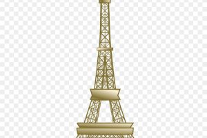 free eiffel tower clipart 3