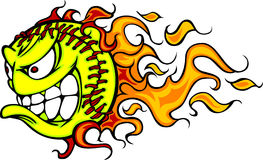 free fastpitch softball clipart 3