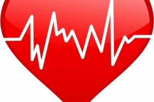 free heartbeat clipart 6