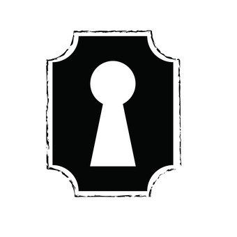 Free keyhole clipart 2 » Clipart Station