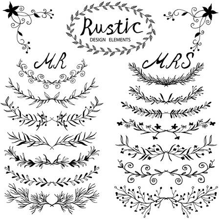 Free Rustic Wedding Clipart 5