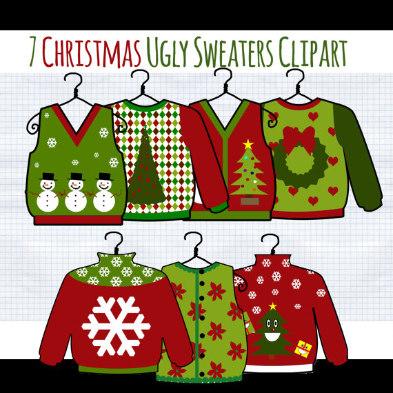 Ugly Christmas Sweater Clipart.Free Ugly Christmas Sweater Clipart 5 Clipart Station