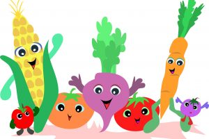 fruit and vegetables clipart 6