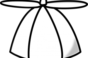 funny hat clipart 3