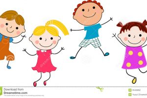 funny kids clipart 2