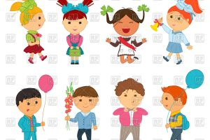 funny kids clipart 3