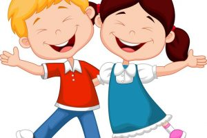 funny kids clipart