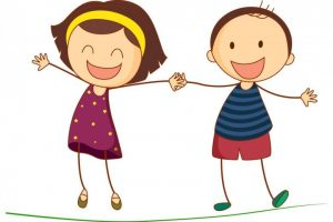 funny kids clipart 7
