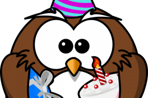 funny owl clipart 2