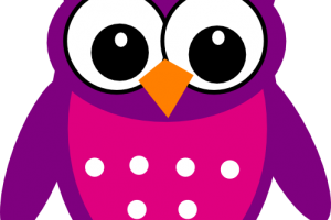 funny owl clipart