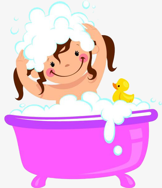 Girl Taking A Shower Clipart 8  Clipart Station-6585