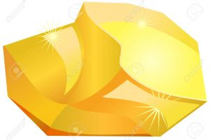 gold nugget clipart 5