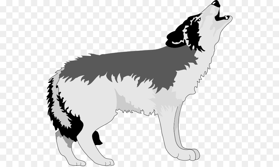 Gray wolf. Clipart station