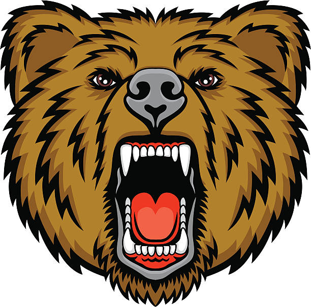Grizzly bear. Clipart station