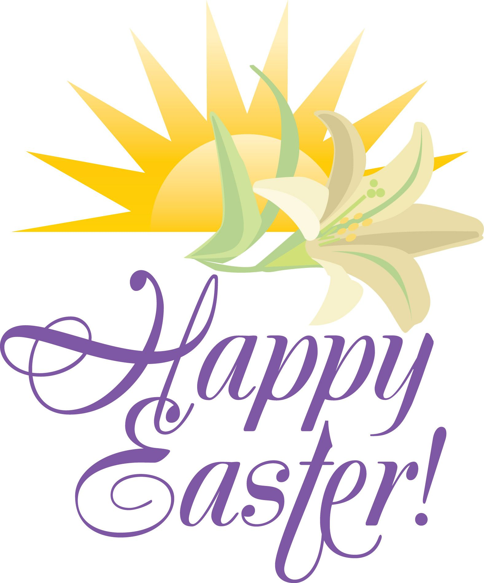 Happy Easter Clipart Religious 5 Clipart Station