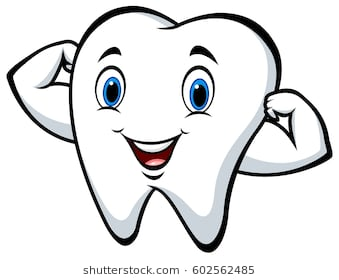Tooth happy. Clipart station