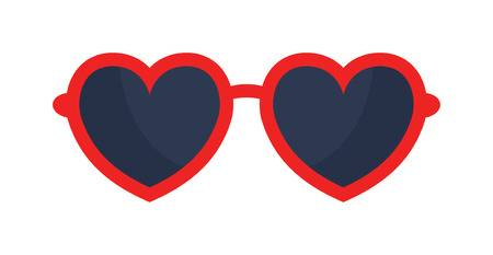Sunglasses heart. Clipart station