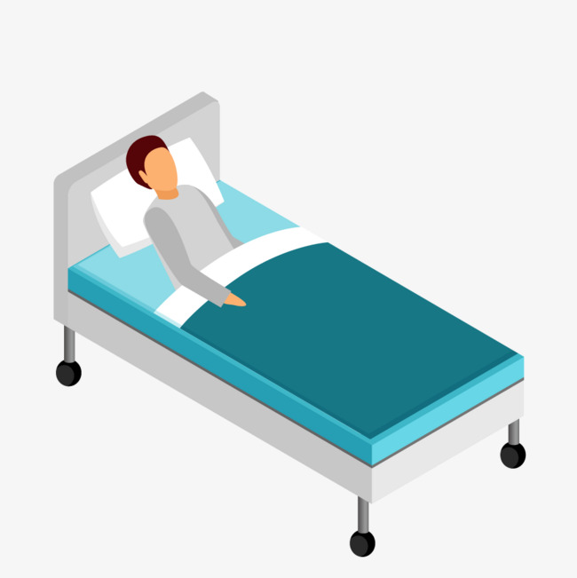 Hospital Beds Clipart 6