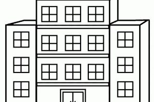 Black Building Cliparts | Free Download Clip Art | Free Clip Art regarding Hospital Building Clipart Black And White