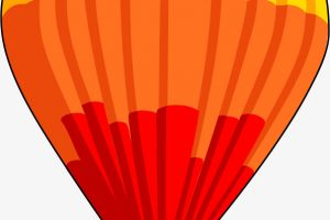 hot air balloon clipart free 2