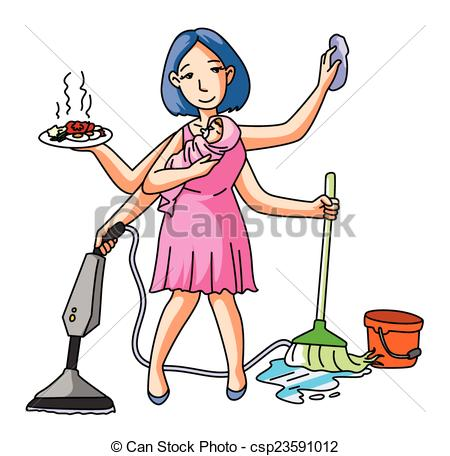 Surprising Housewife Clipart 3 Clipart Station Interior Design Ideas Clesiryabchikinfo