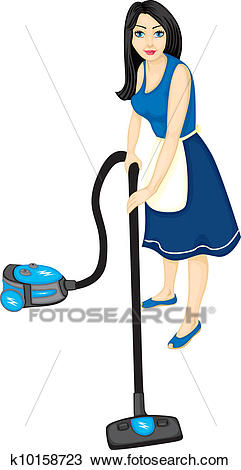 Fabulous Housewife Clipart 6 Clipart Station Interior Design Ideas Clesiryabchikinfo