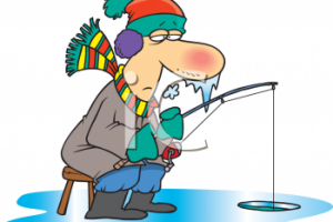 ice fishing clipart 7
