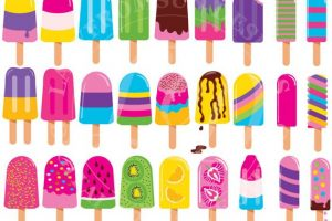 ice pops clipart 3