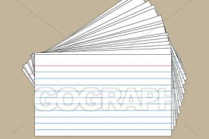 index cards clipart 4