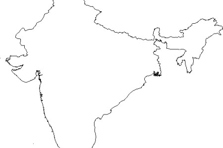 India Map Outline Black And White 28 collection of india map clipart ...