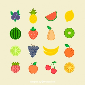 Individual Fruits And Vegetables Clipart 3 Clipart Station