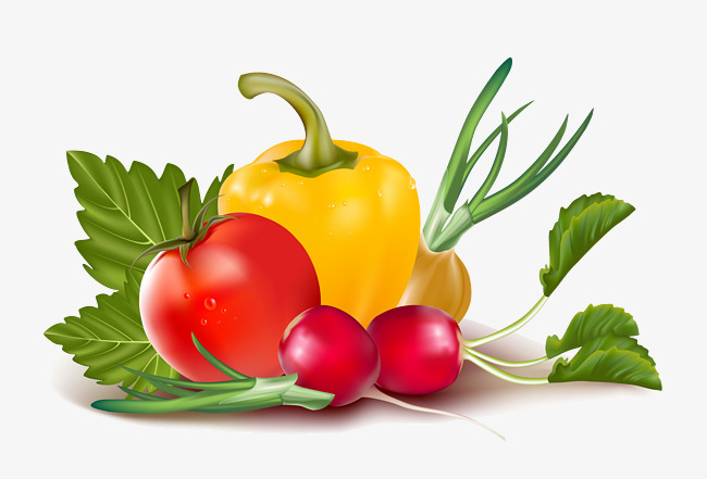 Individual Fruits And Vegetables Clipart 9 Clipart Station
