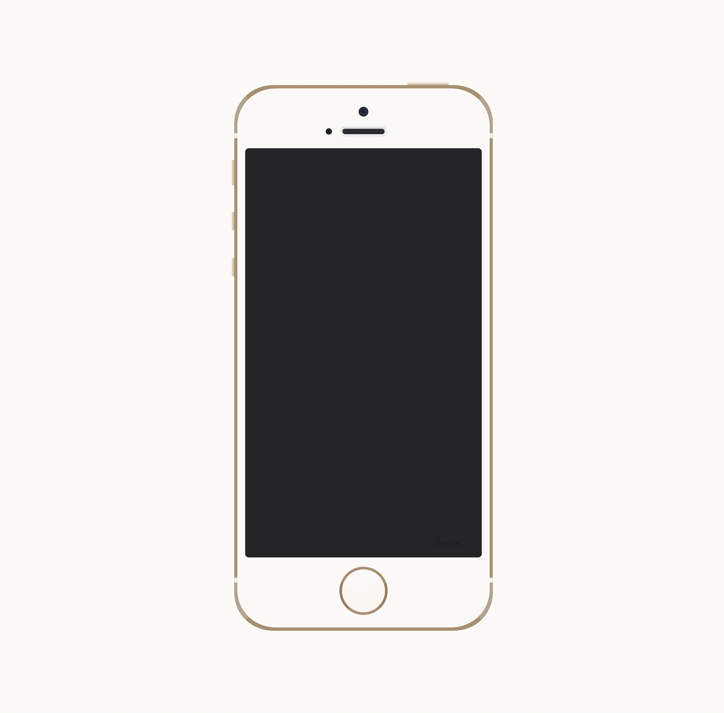 Iphone black. Clipart and white letters