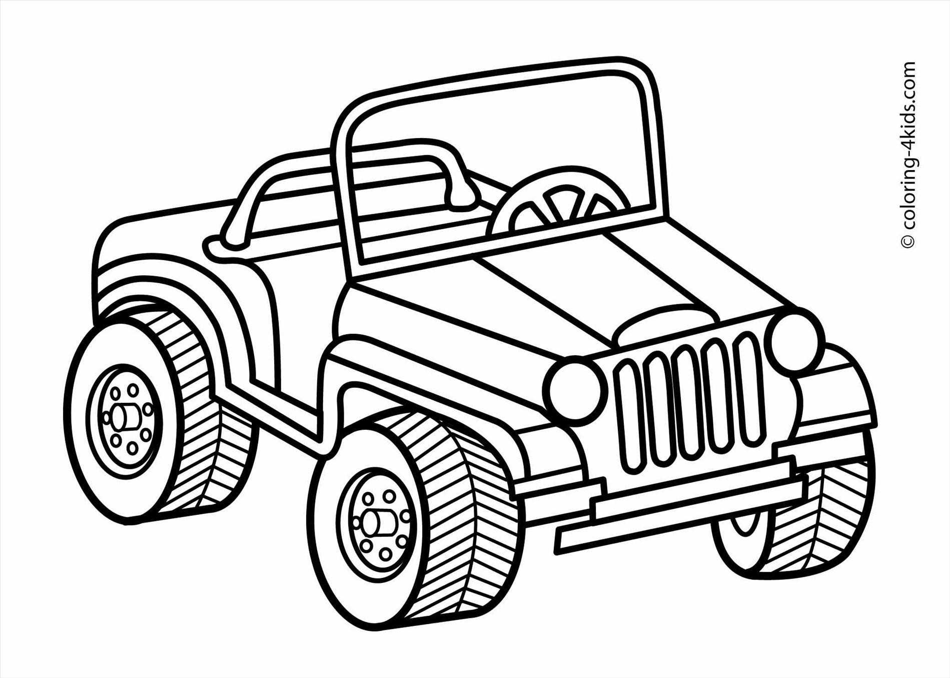 Jeep Black And White Clipart 3 Clipart Station