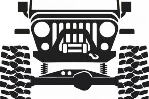 Jeep Clipart Luxury Jeep Clip Art Black And White Clipart Clipart
