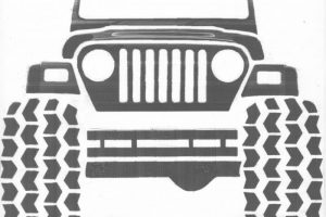 Jeep Wrangler Clipart 1 Clipart Station