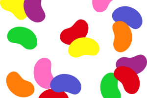 jelly beans clipart 6
