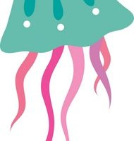jelly fish clipart 1