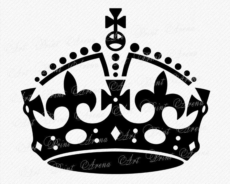 Keep Calm Crown Clipart 1 Clipart Station