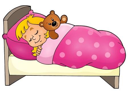 Kid sleeping clipart 4 » Clipart Station