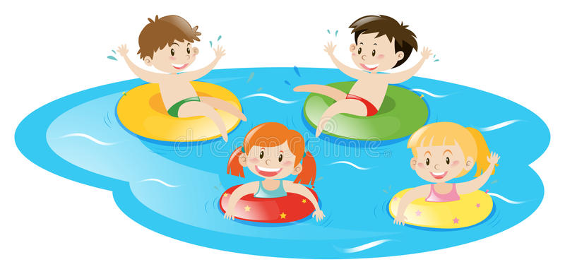 Kids swimming clipart 6 » Clipart Station