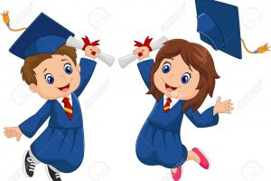 Graduation-Clipart-Kid-Vector-4 – St. Patrick Catholic Academy in Kindergarten Graduation Clipart